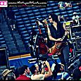 All American Rejects at the Braves game -11