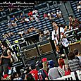 All American Rejects at the Braves game -13