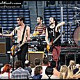 All American Rejects at the Braves game -29