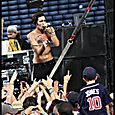 All American Rejects at the Braves game -35