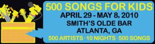 500 Songs banner
