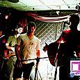 Tyler Lyle, Little Horn, and Richard Sherfey at Star Bar-23