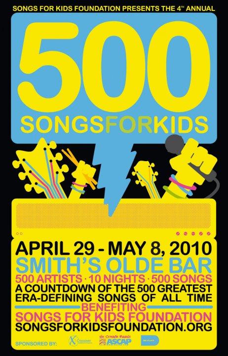 500 SONGS 2010