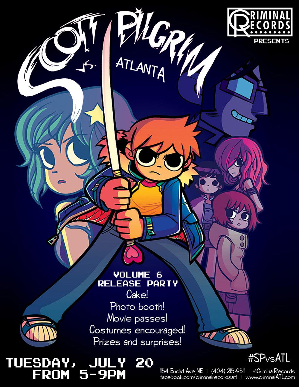 Scott Pilgram comic