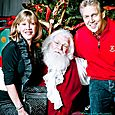 Yacht Rock Holiday Party- Pictures with SANTA! -12