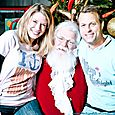 Yacht Rock Holiday Party- Pictures with SANTA! -13