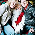 Yacht Rock Holiday Party- Pictures with SANTA! -16