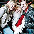 Yacht Rock Holiday Party- Pictures with SANTA! -17