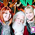 Yacht Rock Holiday Party- Pictures with SANTA! -2