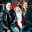 Yacht Rock Holiday Party- Pictures with SANTA! -20