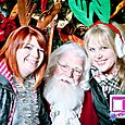 Yacht Rock Holiday Party- Pictures with SANTA! -3
