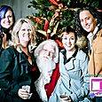 Yacht Rock Holiday Party- Pictures with SANTA! -4