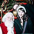 Yacht Rock Holiday Party- Pictures with SANTA! -5