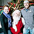 Yacht Rock Holiday Party- Pictures with SANTA! -7