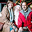 Yacht Rock Holiday Party- Pictures with SANTA! -22