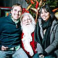 Yacht Rock Holiday Party- Pictures with SANTA! -23
