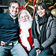 Yacht Rock Holiday Party- Pictures with SANTA! -24