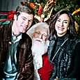 Yacht Rock Holiday Party- Pictures with SANTA! -27