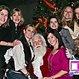 Yacht Rock Holiday Party- Pictures with SANTA! -37