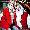 Yacht Rock Holiday Party- Pictures with SANTA! -40