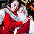 Yacht Rock Holiday Party- Pictures with SANTA! -43
