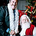 Yacht Rock Holiday Party- Pictures with SANTA! -45