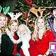 Yacht Rock Holiday Party- Pictures with SANTA! -46