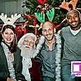 Yacht Rock Holiday Party- Pictures with SANTA! -47