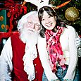 Yacht Rock Holiday Party- Pictures with SANTA! -51