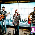 Lauren St Jane and the Dead Westerns performing at the CNN Grill-6