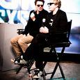 Duran Duran being interviewed at the CNN Grill-10