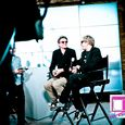 Duran Duran being interviewed at the CNN Grill-2