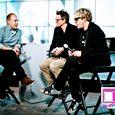 Duran Duran being interviewed at the CNN Grill-3