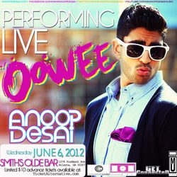 ANOOP DESAI SHOW GRAPHIC II