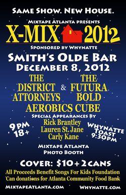 XMIX 2013 poster