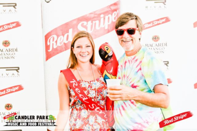 Midsummer Red Stripe