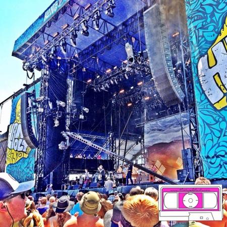 Needtobreathe on the main stage