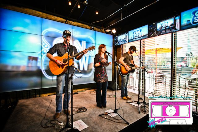 Lauren St Jane and the Dead Westerns performing at the CNN Grill-1