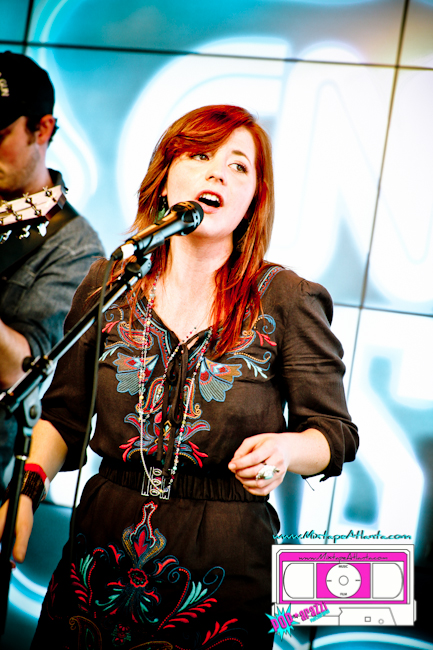 Lauren St Jane and the Dead Westerns performing at the CNN Grill-18