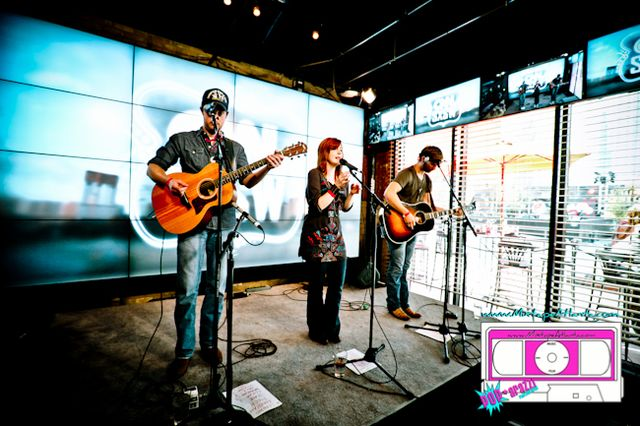 Lauren St Jane and the Dead Westerns performing at the CNN Grill-2